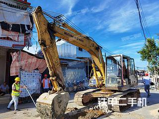 小松PC120-5挖掘機實拍圖片