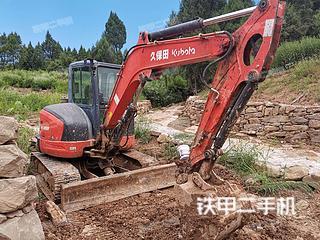 四川-广元市二手久保田KX163-5挖掘机实拍照片
