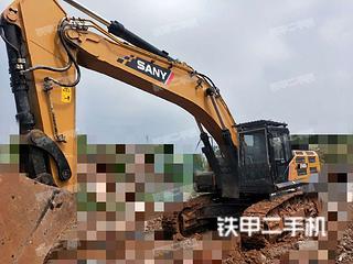 安徽-宿州市二手三一重工SY485H挖掘机实拍照片