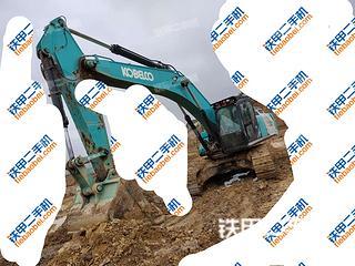 神鋼SK380XD-10挖掘機實拍圖片
