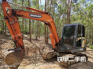 广西-玉林市二手斗山DH60-7挖掘机实拍照片