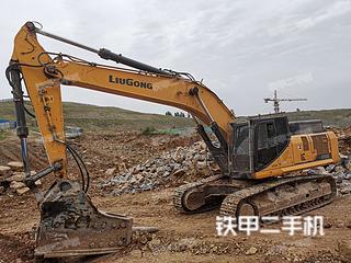 柳工CLG950E挖掘機實拍圖片