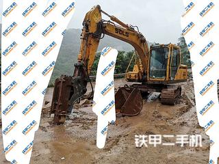 山東臨工LG6135挖掘機實拍圖片
