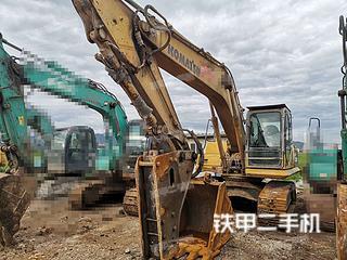 曲靖小松PC200-8挖掘機實拍圖片