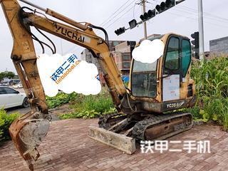玉柴YC35-6挖掘機實拍圖片