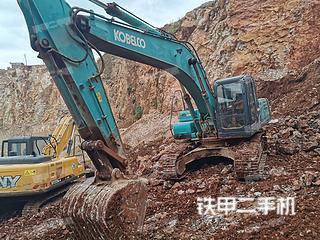 云南-昆明市二手神钢SK250-8挖掘机实拍照片