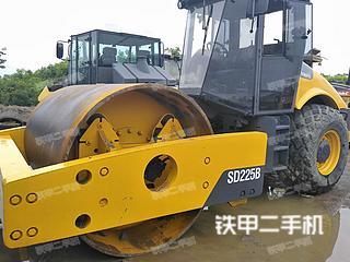 安徽-合肥市二手沃尔沃SD200压路机实拍照片