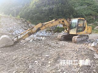 湖南-邵阳市二手小松PC120-6E挖掘机实拍照片