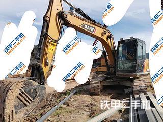 三一重工SY155C挖掘機實拍圖片