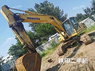 青島小松PC240LC-8挖掘機實拍圖片