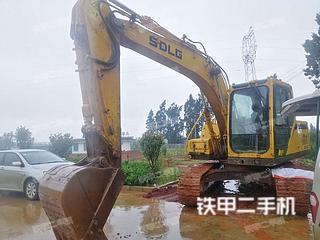 山東臨工E6135F挖掘機實拍圖片