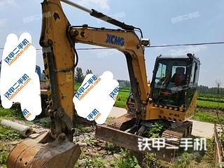 安徽-亳州市二手徐工XE60D挖掘机实拍照片