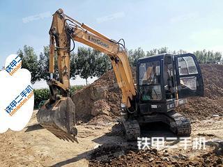 柳工CLG906D挖掘機實拍圖片