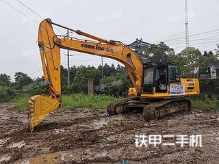 龍工LG6285H挖掘機實拍圖片
