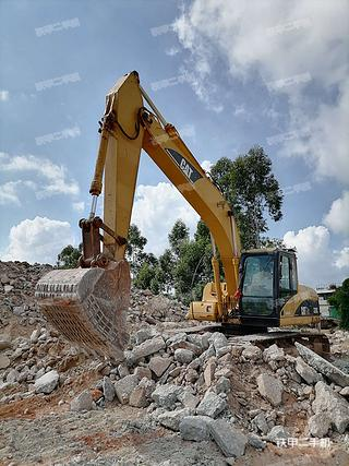 广东-肇庆市二手卡特彼勒320C挖掘机实拍照片