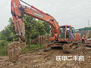安徽-合肥市二手斗山DH220LC-9E挖掘机实拍照片