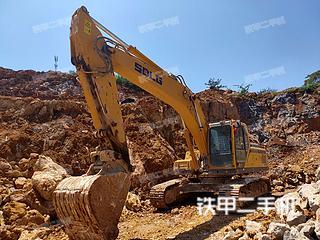 邢台山东临工E6250F挖掘机实拍图片