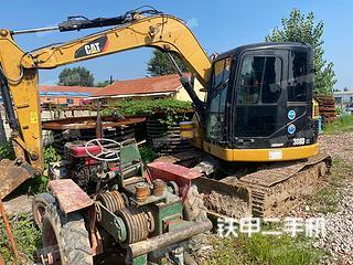 山东-潍坊市二手卡特彼勒308DCR挖掘机实拍照片