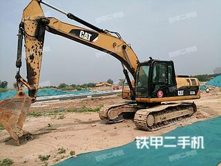 济源卡特彼勒323DL挖掘机实拍图片