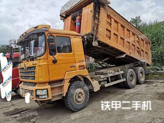 福田欧曼6X2工程自卸车实拍图片
