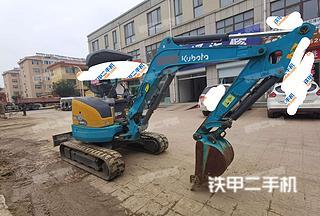 久保田U30-5挖掘机实拍图片