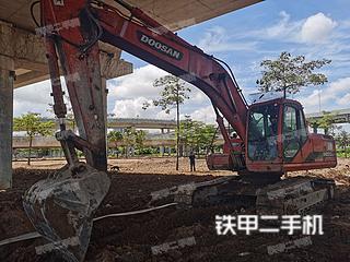广东-珠海市二手斗山DH220LC-V挖掘机实拍照片