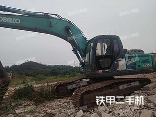 赣州神钢SK260LC-8挖掘机实拍图片