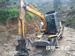 百色万通机械WT85-2T挖掘机实拍图片