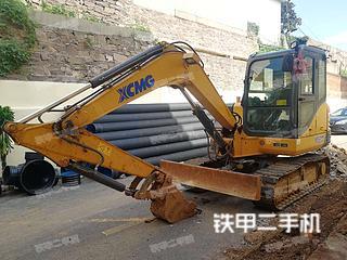 山东-日照市二手徐工XE60D挖掘机实拍照片
