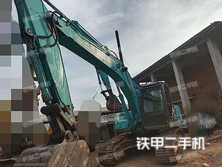 赣州神钢SK200-6E挖掘机实拍图片