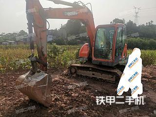 宣城斗山DX75-9C挖掘机实拍图片