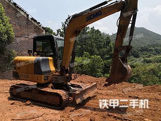 湖南-株洲市二手徐工XE60D挖掘机实拍照片