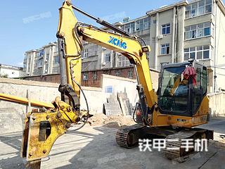 日照徐工XE60D挖掘机实拍图片
