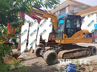 犀牛重工X8轮式履带挖掘机实拍图片