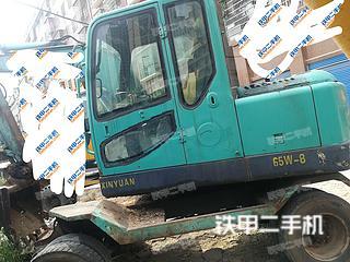 新源XY65W-7挖掘机实拍图片