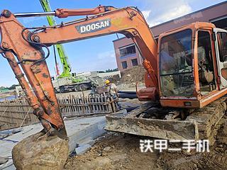 山东-青岛市二手斗山DH80GOLD挖掘机实拍照片