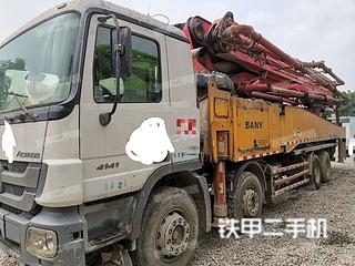 上海三一重工SY5419THB-52E(6)泵車實拍圖片
