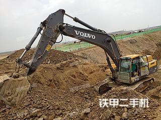 临沂沃尔沃EC350D挖掘机实拍图片