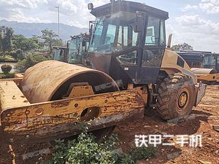 云南-红河哈尼族彝族自治州二手柳工CLG620压路机实拍照片