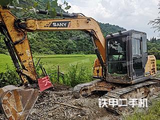 江西-上饶市二手三一重工SY75C挖掘机实拍照片