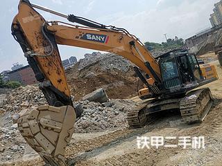 三一重工SY375H挖掘机实拍图片