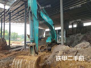 宣城神钢SK230挖掘机实拍图片