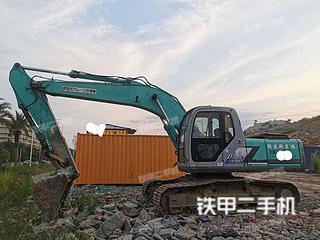 广东-韶关市二手神钢SK200-6挖掘机实拍照片