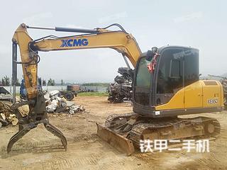 日照徐工XE75D挖掘机实拍图片