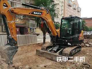 济源三一重工SY55C挖掘机实拍图片