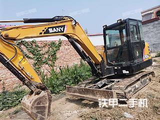 邢台三一重工SY55C挖掘机实拍图片