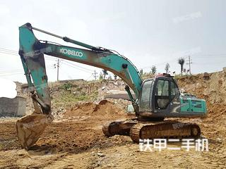 日照神钢SK250-8挖掘机实拍图片
