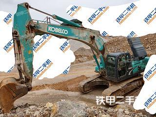 宣城神钢SK350LC-8挖掘机实拍图片