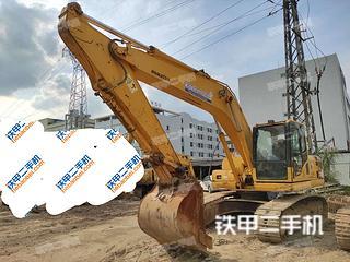 广州小松PC200-8挖掘机实拍图片
