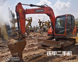斗山DX75-9C PLUS挖掘机实拍图片